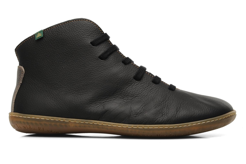 Lace-up shoes El Naturalista Viajero N267 M Black back view