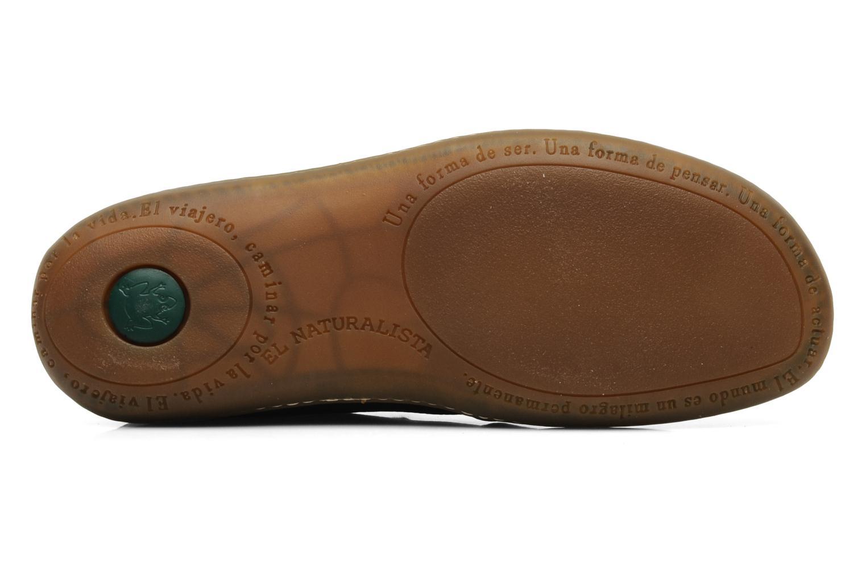 Chaussures à lacets El Naturalista Viajero N267 M Noir vue haut