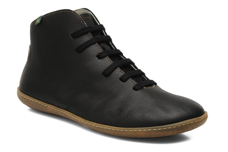 Chaussures à lacets El Naturalista Viajero N267 M Noir vue détail/paire