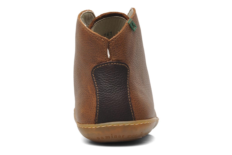 Chaussures à lacets El Naturalista Viajero N267 M Marron vue droite