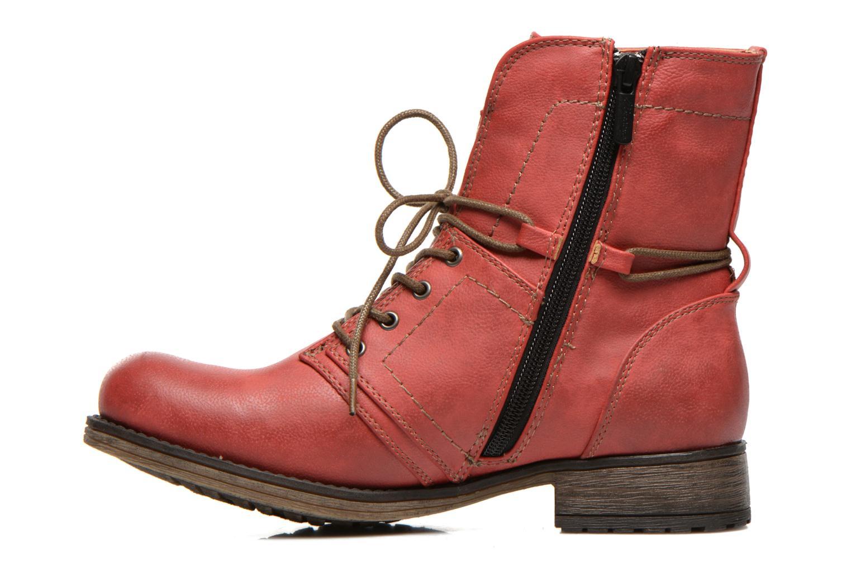 Boots en enkellaarsjes Mustang shoes Irina Rood voorkant