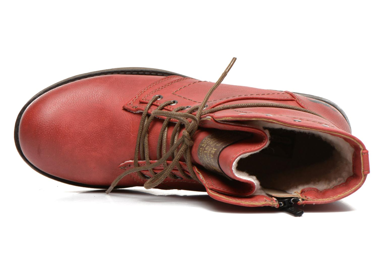Stivaletti e tronchetti Mustang shoes Irina Rosso immagine sinistra