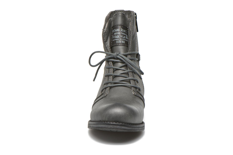 Boots en enkellaarsjes Mustang shoes Irina Grijs model