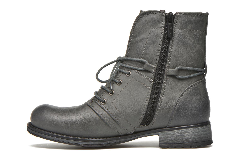 Boots en enkellaarsjes Mustang shoes Irina Grijs voorkant