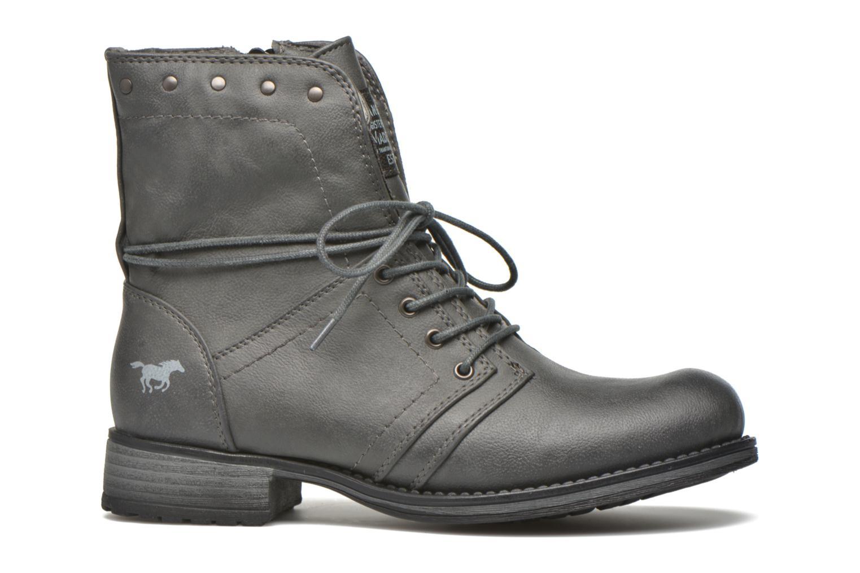 Boots en enkellaarsjes Mustang shoes Irina Grijs achterkant