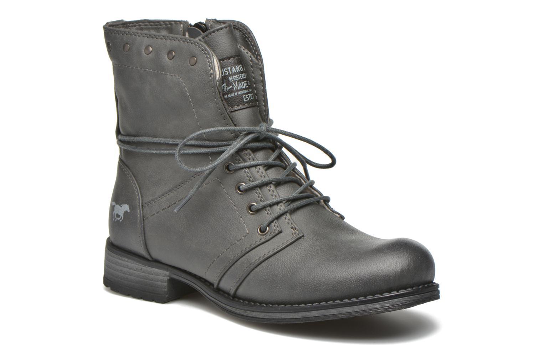Boots en enkellaarsjes Mustang shoes Irina Grijs detail