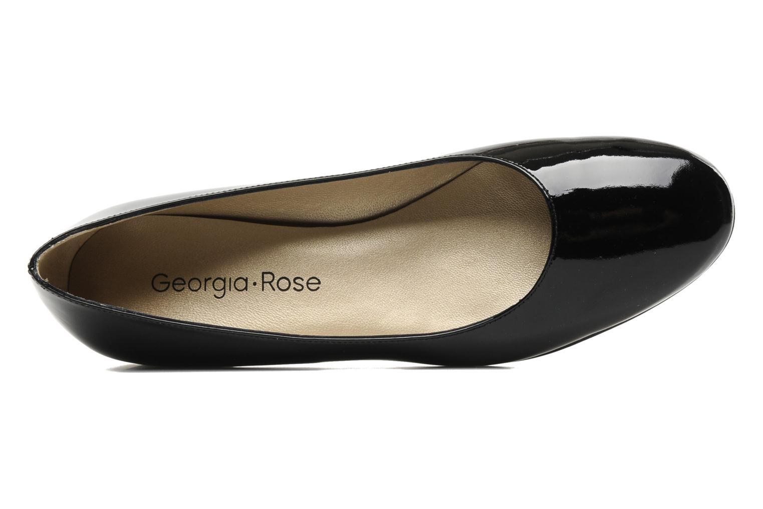 Ballet pumps Georgia Rose Jenny CFT Black view from the left