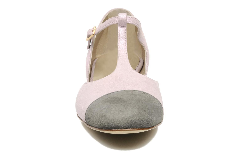 Sandalen Georgia Rose Jessey CFT rosa schuhe getragen