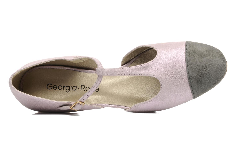 Sandalen Georgia Rose Jessey CFT rosa ansicht von links