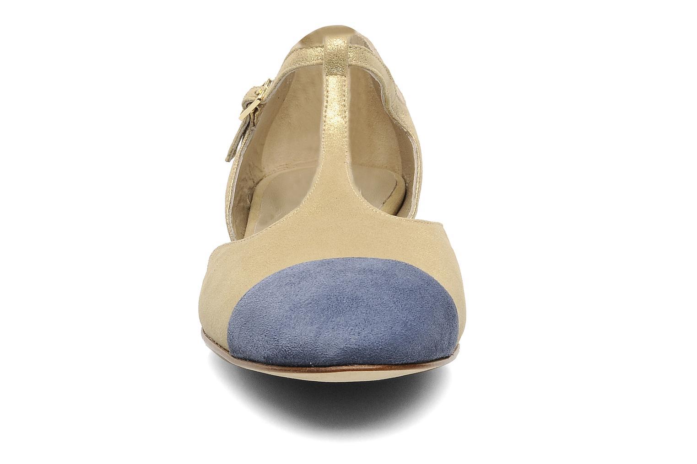 Sandalen Georgia Rose Jessey CFT gold/bronze schuhe getragen