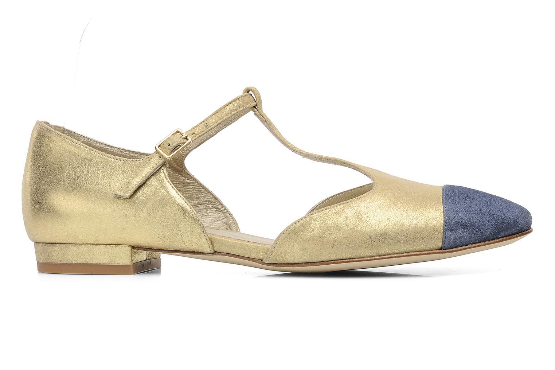 Sandales et nu-pieds Georgia Rose Jessey CFT Or et bronze vue derrière