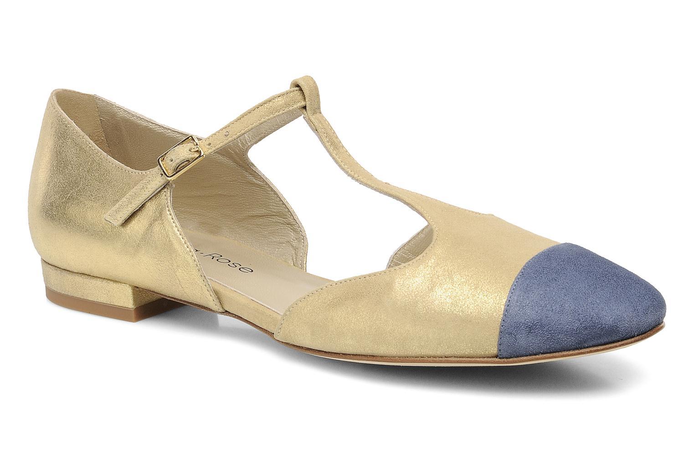 Sandales et nu-pieds Georgia Rose Jessey CFT Or et bronze vue détail/paire