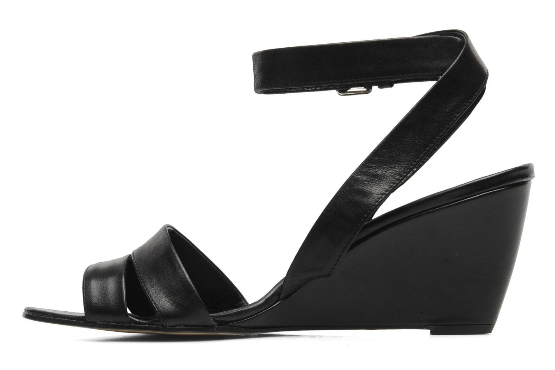 Sandales et nu-pieds Elizabeth Stuart BANDJO 366 Noir vue face