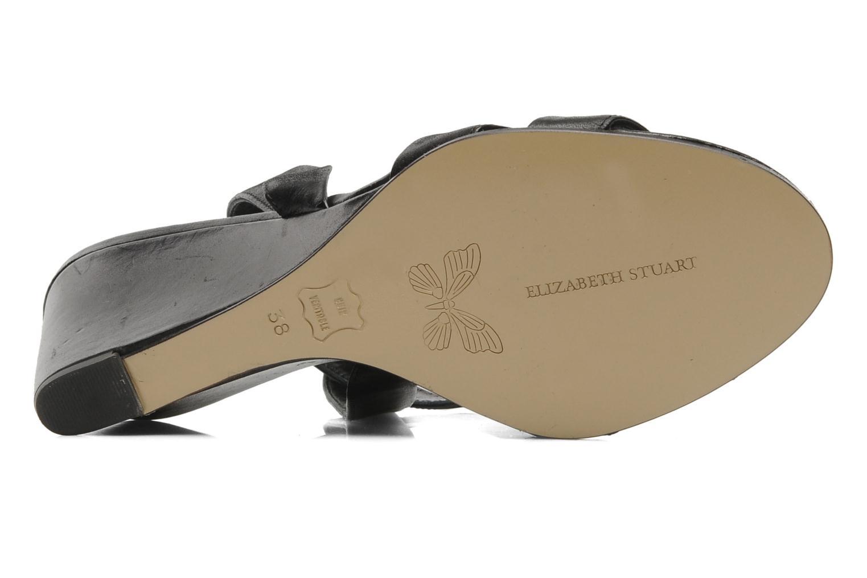 Sandales et nu-pieds Elizabeth Stuart BANDJO 366 Noir vue haut