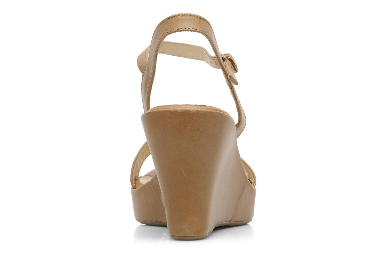 Sandales et nu-pieds Elizabeth Stuart SUZY 303 Beige vue droite