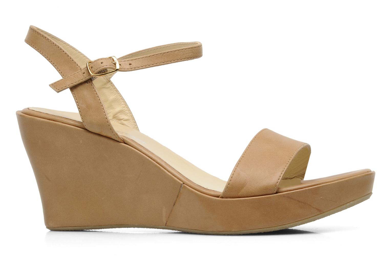 Sandales et nu-pieds Elizabeth Stuart SUZY 303 Beige vue derrière