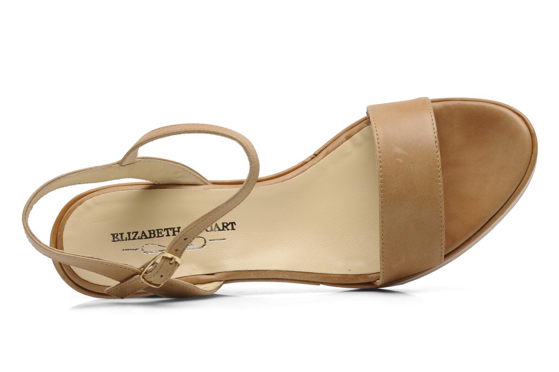 Sandales et nu-pieds Elizabeth Stuart SUZY 303 Beige vue gauche