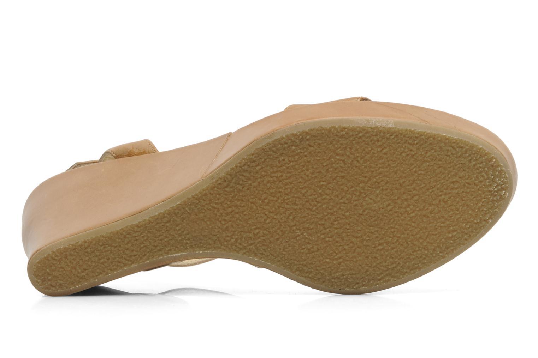 Sandales et nu-pieds Elizabeth Stuart SUZY 303 Beige vue haut