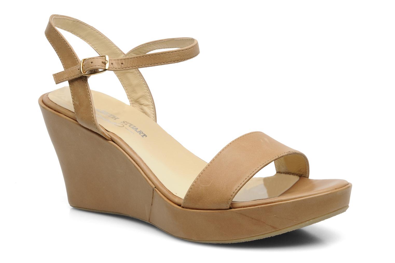Sandales et nu-pieds Elizabeth Stuart SUZY 303 Beige vue détail/paire