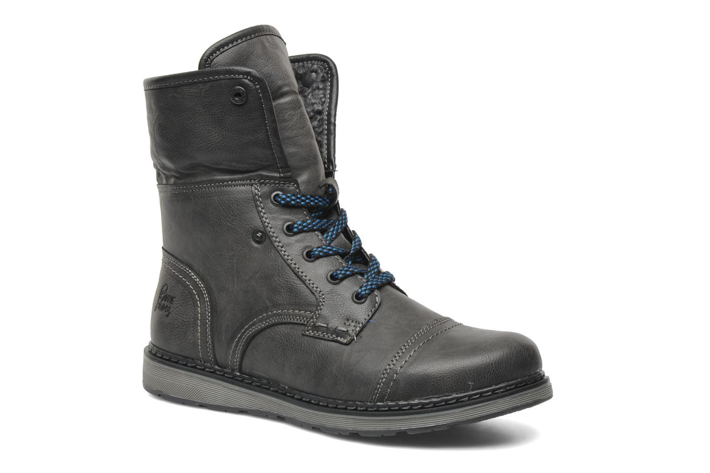 Botines  I Love Shoes Sagamore Gris vista 3/4