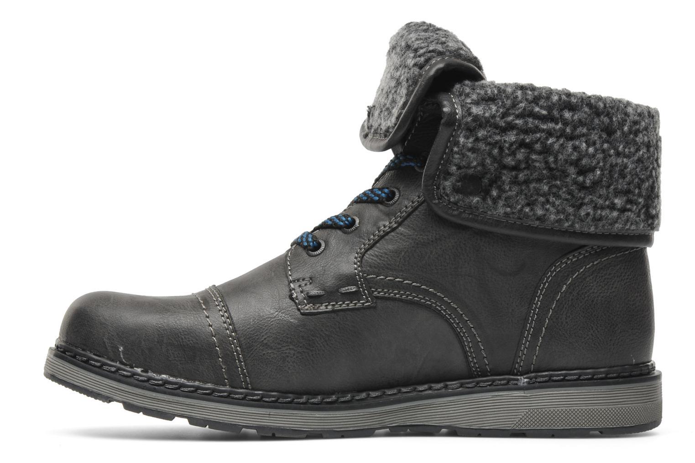 Boots en enkellaarsjes I Love Shoes Sagamore Grijs voorkant