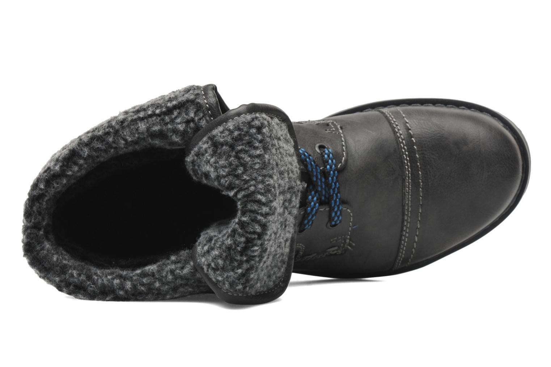 Botines  I Love Shoes Sagamore Gris vista lateral izquierda