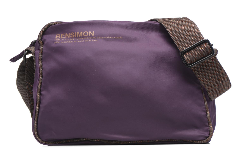 Sacs à main Bensimon Small Besace Violet vue détail/paire