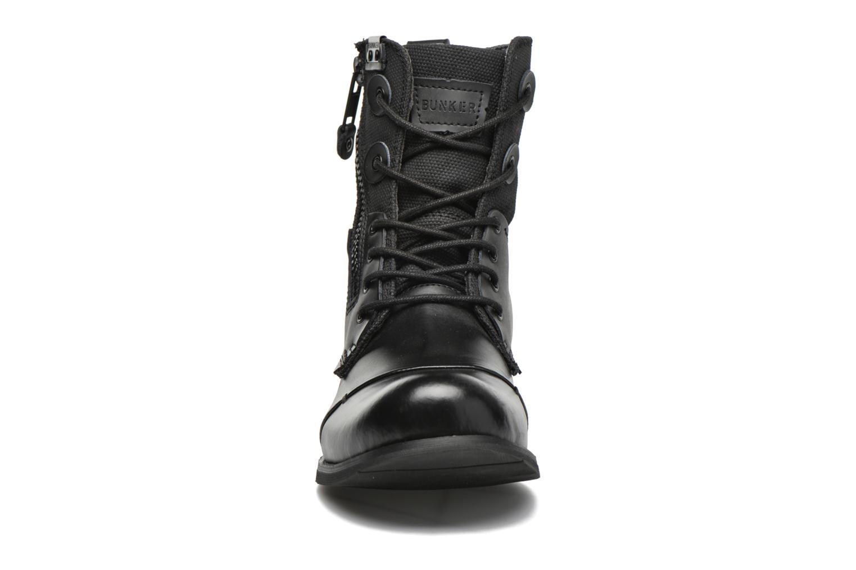 Boots en enkellaarsjes Bunker Tara por Zwart model