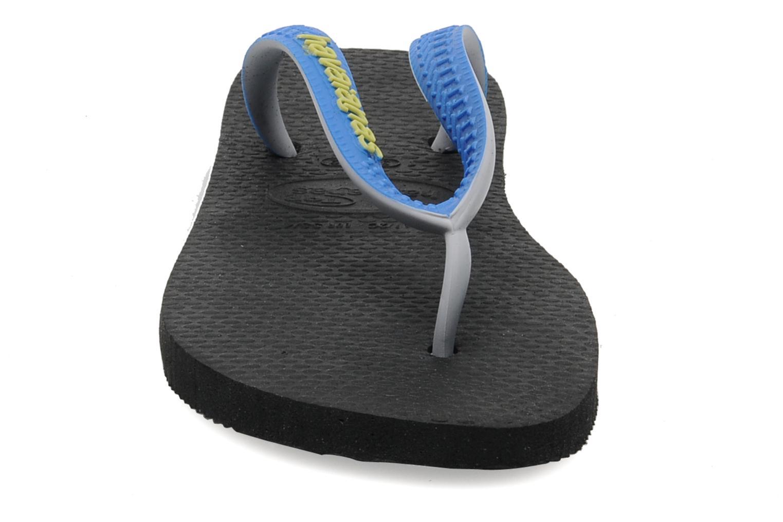 Tongs Havaianas Top Mix Noir vue portées chaussures