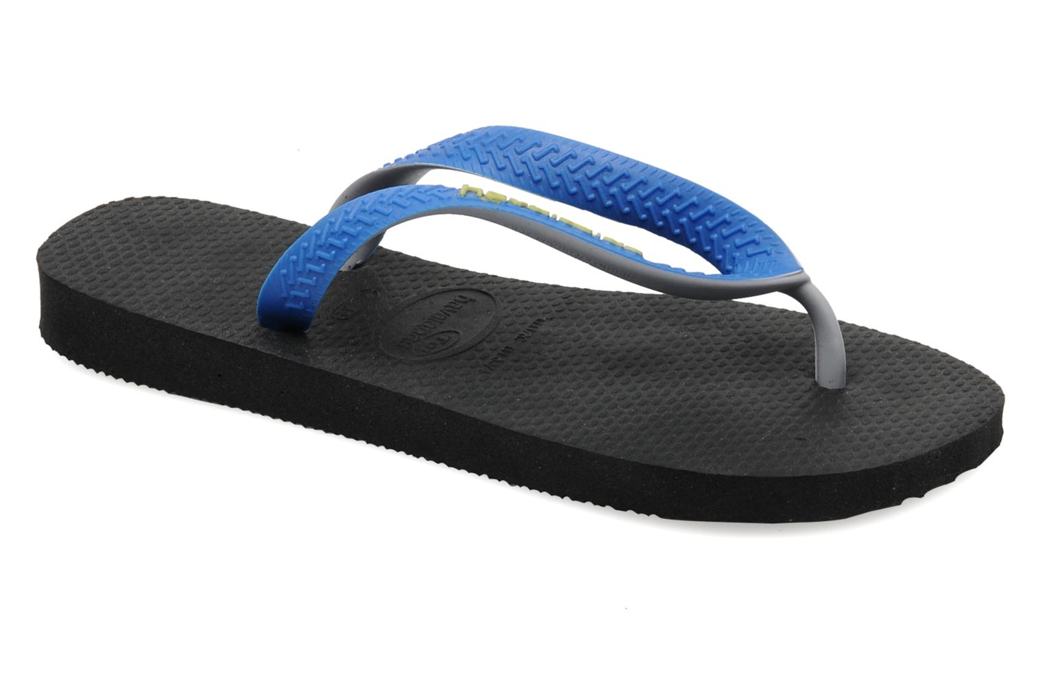 Chanclas Havaianas Top Mix Negro vista de detalle / par