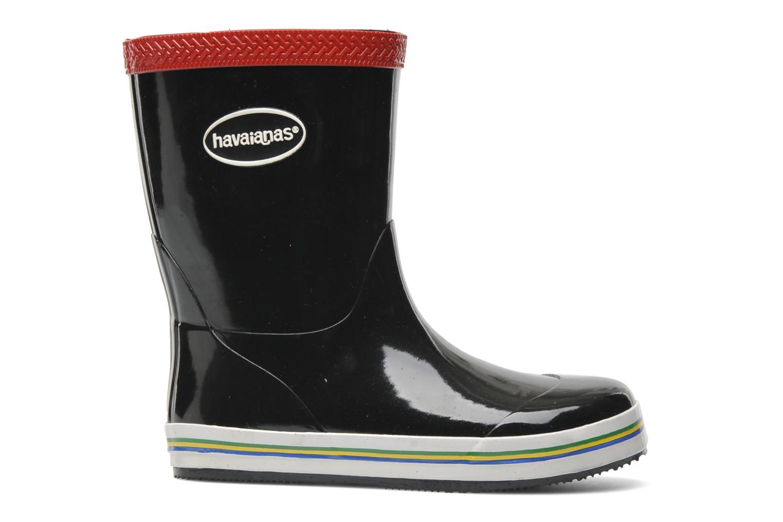 Bottes Havaianas Aqua Kids Rain Boots Noir vue derrière