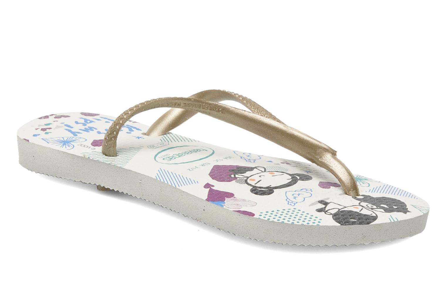 Slippers Havaianas Kids Slim Pucca Wit detail