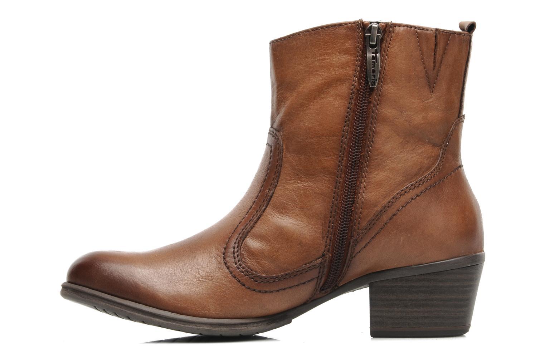 Stiefeletten & Boots Tamaris Kaoutl braun ansicht von vorne