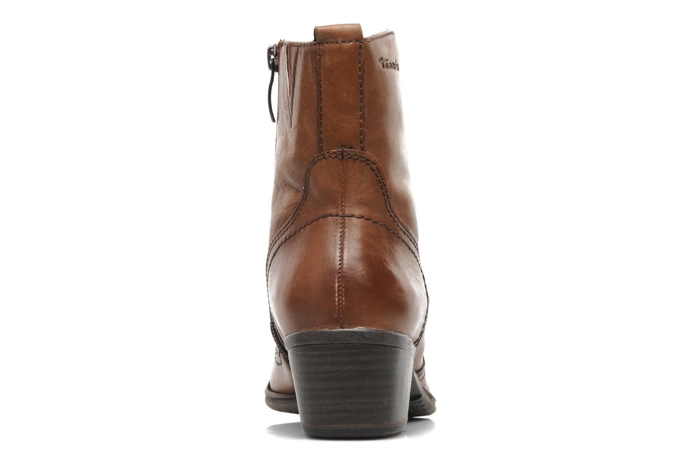 Stiefeletten & Boots Tamaris Kaoutl braun ansicht von rechts