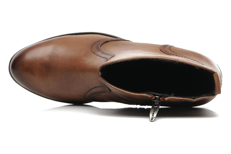 Bottines et boots Tamaris Kaoutl Marron vue gauche