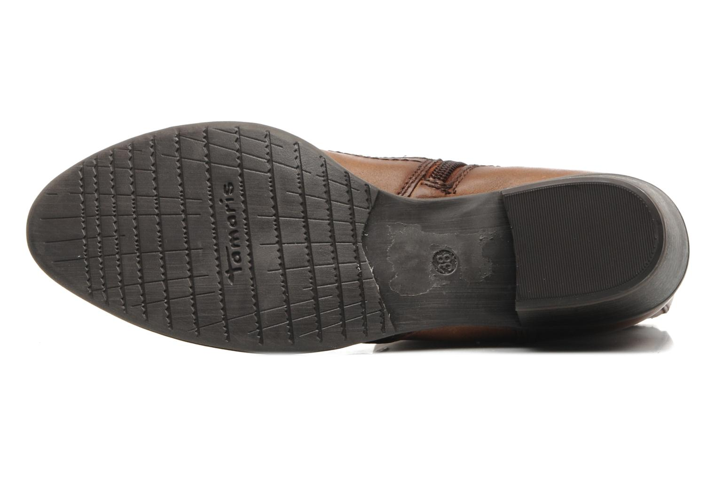 Stiefeletten & Boots Tamaris Kaoutl braun ansicht von oben