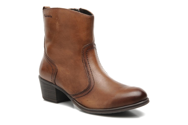 Bottines et boots Tamaris Kaoutl Marron vue détail/paire