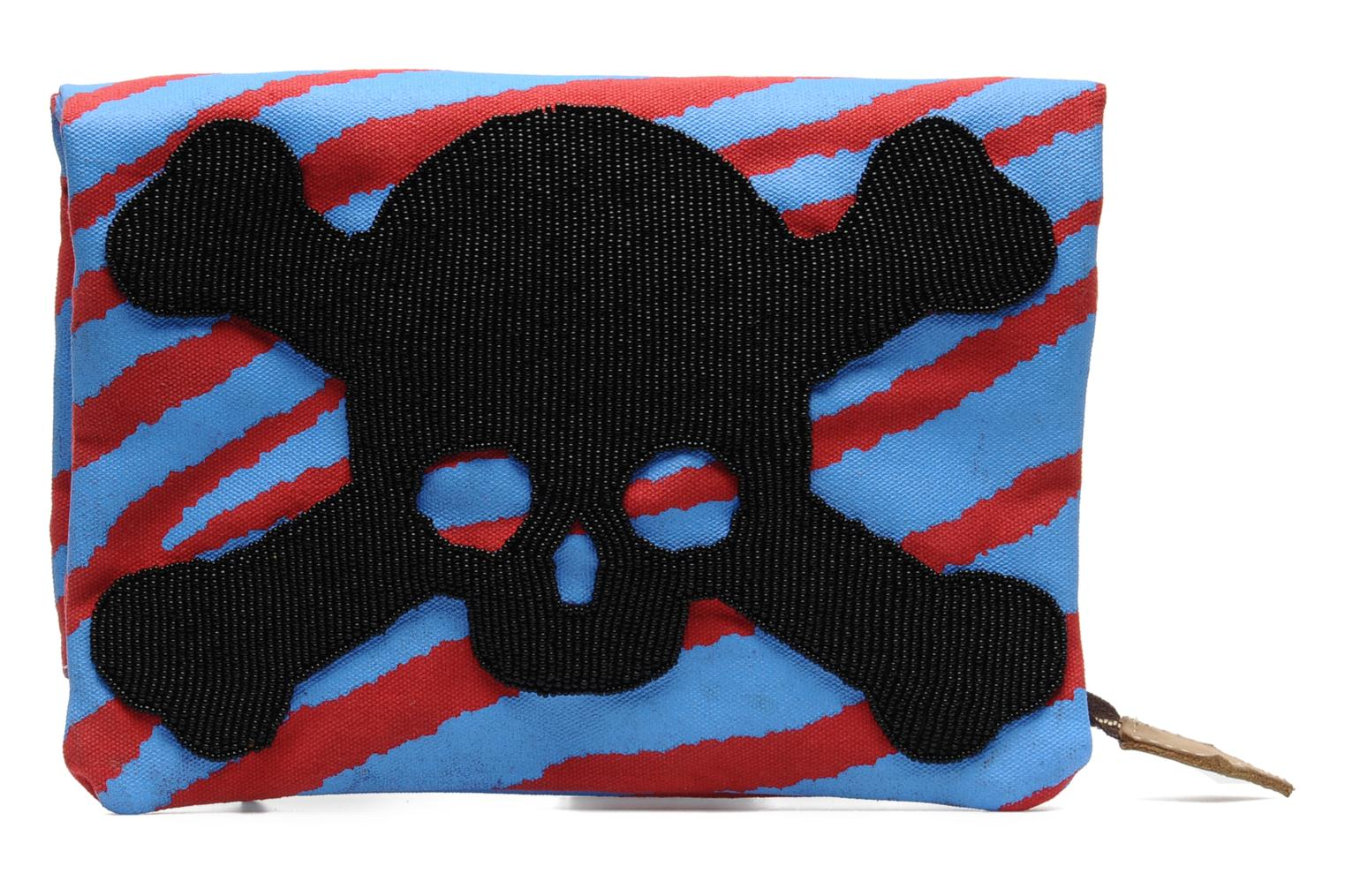 AFRICA PROJECT Tiger pouch Bleu/Rouge