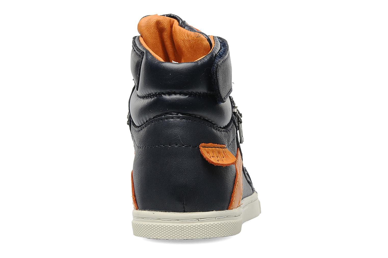 Sneaker P-L-D-M By Palladium Veleda TFL blau ansicht von rechts