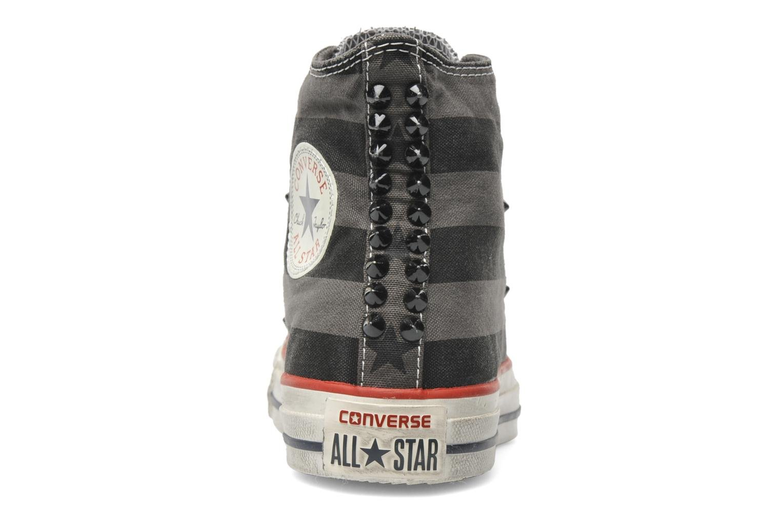 Baskets Converse Chuck Taylor All Star Well Worn Studs Canvas Hi W Gris vue droite