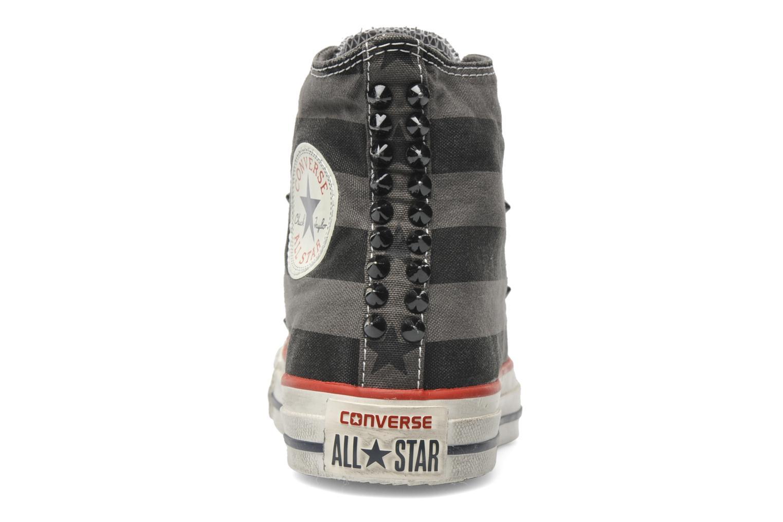 Baskets Converse Chuck Taylor All Star Well Worn Studs Canvas Hi W Gris vue droite