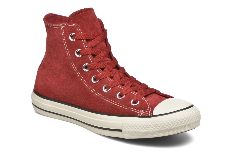 Sneaker Converse Chuck Taylor All Star Suede Hi W weinrot detaillierte ansicht/modell