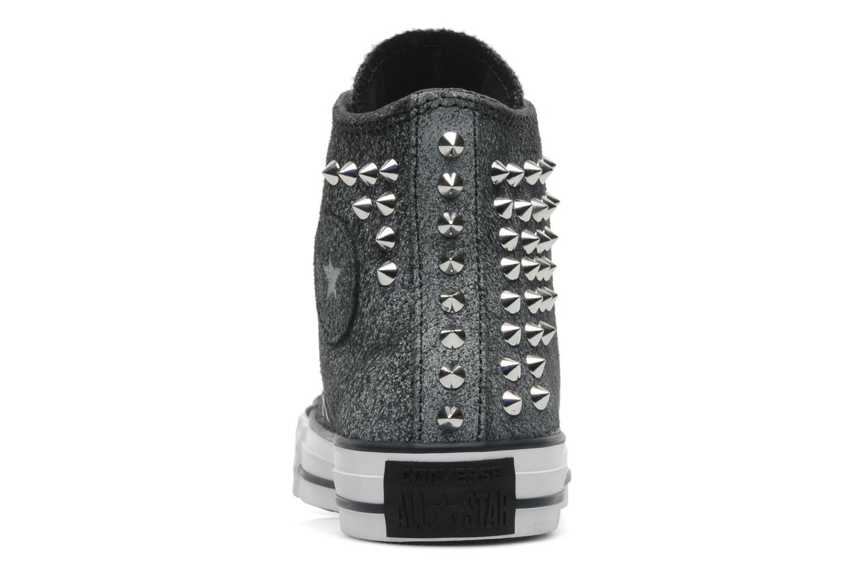 Sneakers Converse Chuck Taylor All Star Collar Stud Suede Hi W Grijs rechts