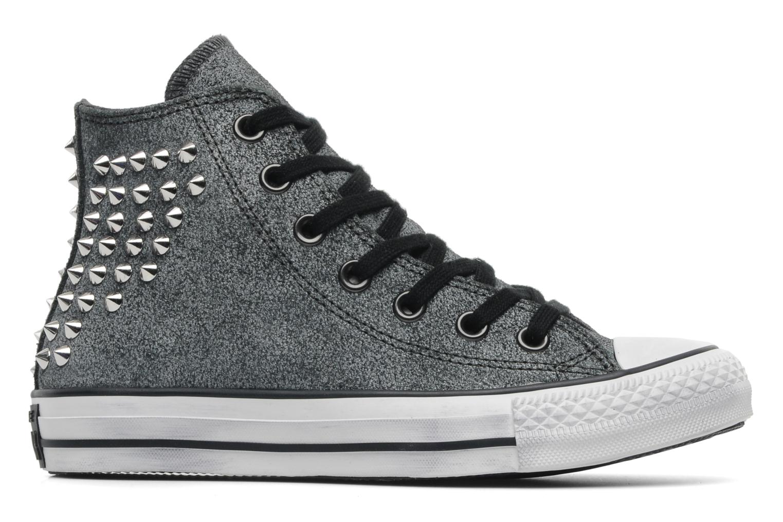 Sneakers Converse Chuck Taylor All Star Collar Stud Suede Hi W Grijs achterkant