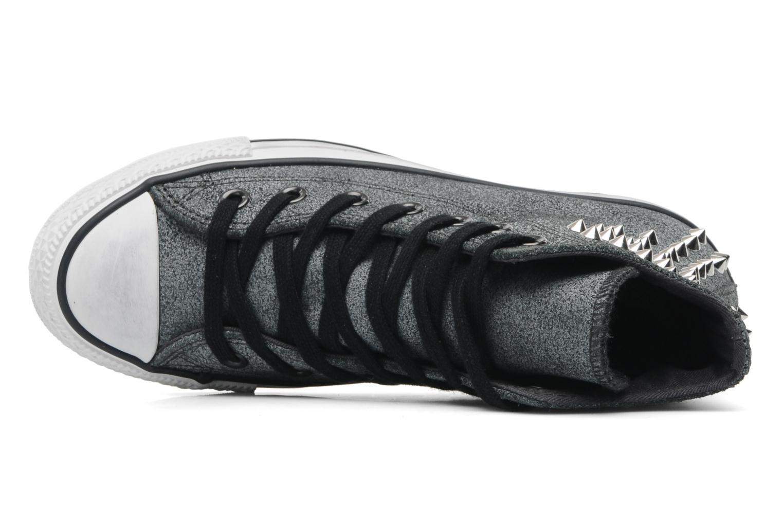 Sneakers Converse Chuck Taylor All Star Collar Stud Suede Hi W Grijs links