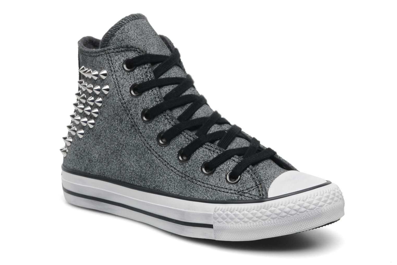 Sneakers Converse Chuck Taylor All Star Collar Stud Suede Hi W Grijs detail