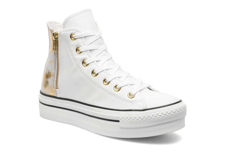 converse chuck taylor all star fashion leather platform hi w