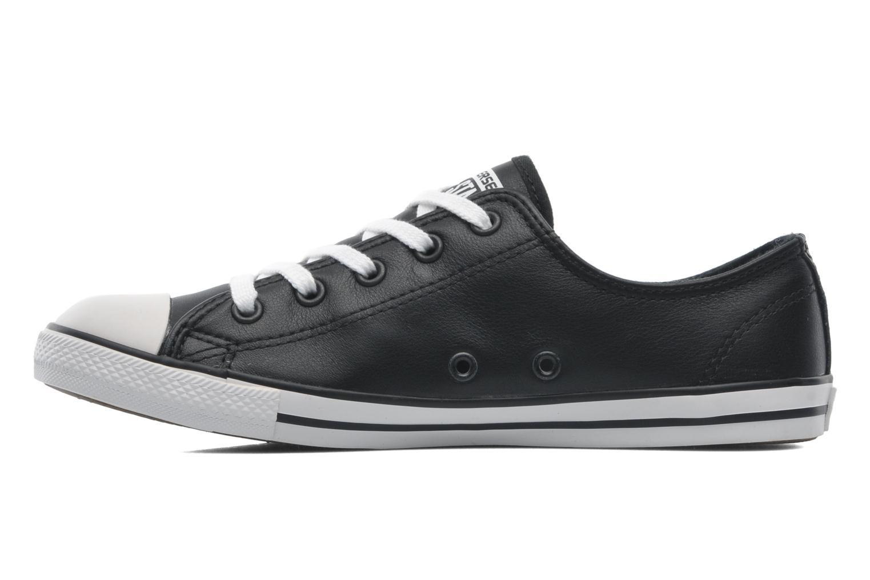 Zapatos promocionales Converse All Star Dainty Cuir Ox W (Negro) - Deportivas   Zapatos casuales salvajes
