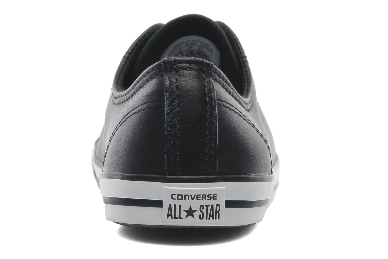 W Ox Dainty Star All Converse Noir Cuir AFqOwPOBZ