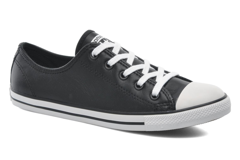 Zapatos cómodos y versátiles Converse All Star Dainty Cuir Ox W (Negro) - Deportivas en Más cómodo